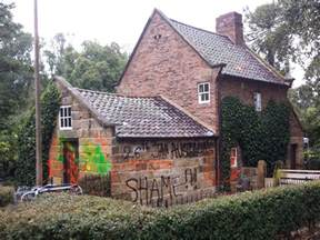 Cook Cottage Melbourne by Vandalism Of Captain Cook S Cottage Condemned Sbs News
