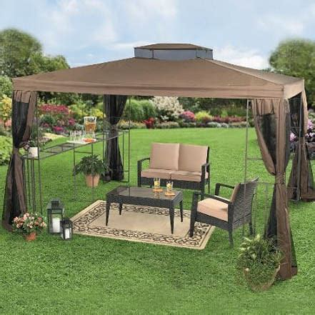 backyard canopy gazebo ideas