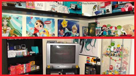 gaming bed tour of my nintendo gaming bedroom 2015 youtube