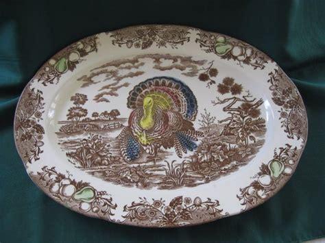 large vintage turkey platter 18 quot x 13 1 2 quot from problem1