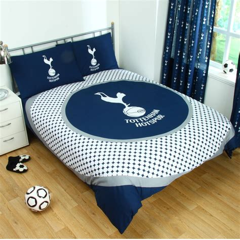 Tottenham Hotspur Fc Double Duvet Cover Set New Spurs Ebay