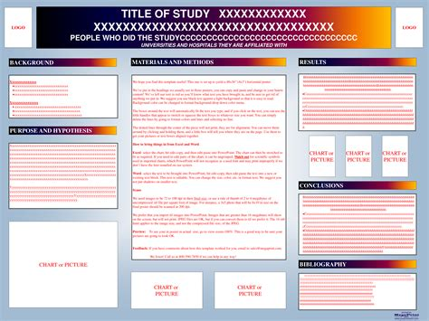 9 best images of conference poster presentation template