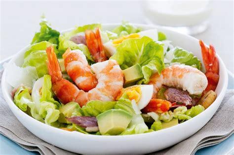Pasta Recipes by Prawn Caesar Salad Recipe Taste Com Au