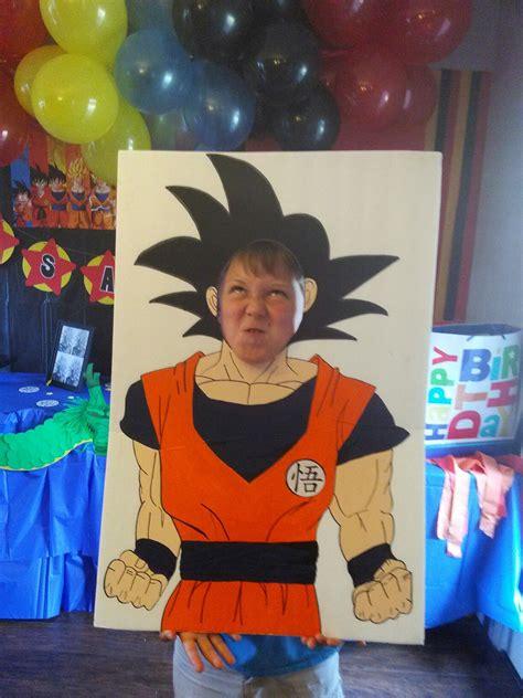 party themes a z dragon ball z party photo prop celebration creations