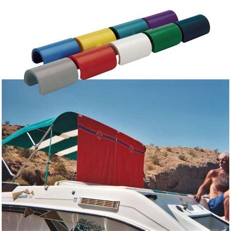pontoon boat bimini top extension overton s round bimini top biminiclip 6 pack boating
