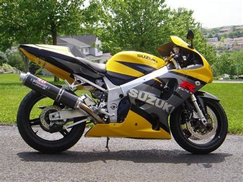 03 Suzuki Gsxr 750 Buy 03 Gsxr 750 Yellow Grey Black Excellent Condition On