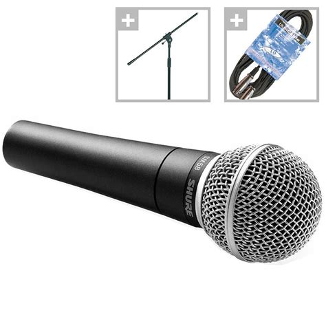 Mic Microphone Kabel Shure Sm 58 shure sm58 set 171 mikrofon