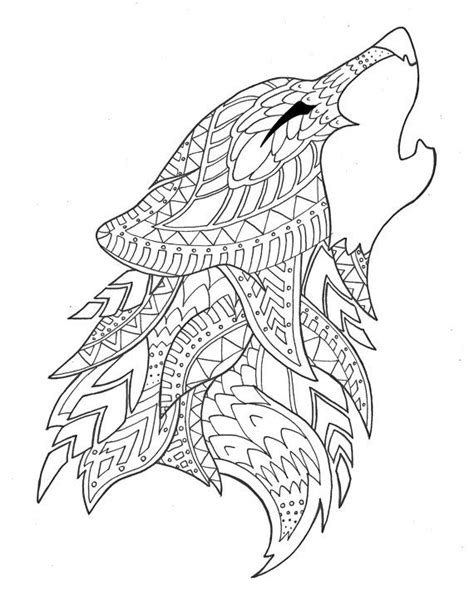 coloring books for wolves more advanced animal coloring pages for teenagers tweens boys zendoodle animals wolves practice for stress relief relaxation books 1120 best images about coloring pages on