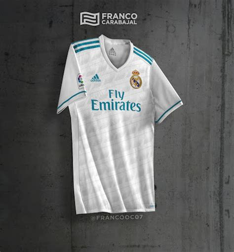 Jersey Real Madrid Away 2018 New Season real madrid le maillot domicile 2017 2018 pourrait