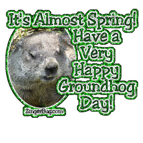 groundhog day slang meaning almost groundhog day glitter glitter graphic