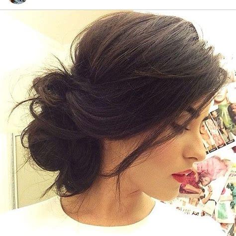 Wedding Hairstyles Side Swept Bun by Best 25 Side Swept Updo Ideas On Prom Hair