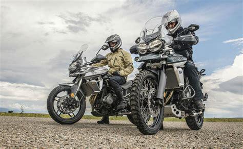 meet triumphs  tiger  range australian motorcycle