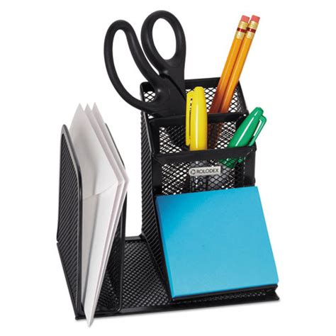 Wire Desk Organizer Wire Mesh Desk Organizer With Pencil Storage 5 3 4 X 5 1