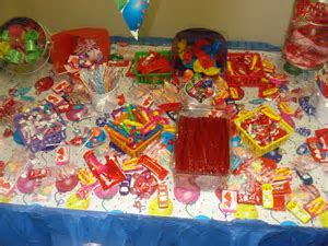 candy table   Design Inspirations' Blog