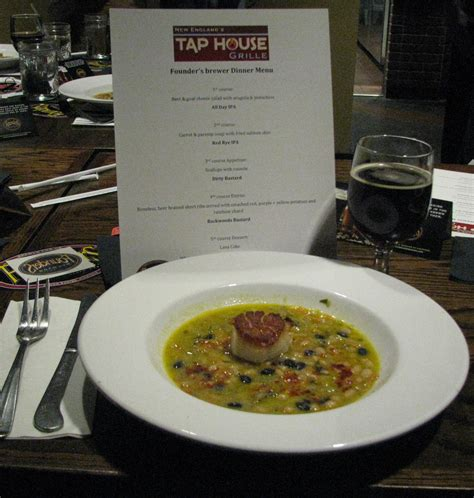 new england tap house 187 founders brewing beer dinner new england tap house grille january 7th