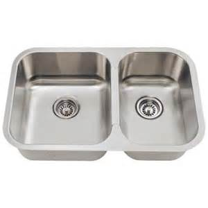 Home Depot Stainless Steel Kitchen Sinks Polaris Sinks Undermount Stainless Steel 28 In