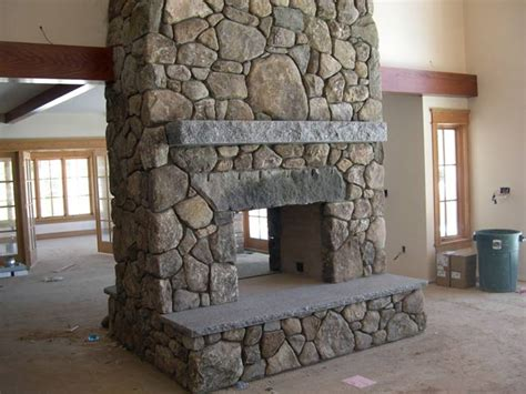 fieldstone fireplace pass through fireplace pass through fieldstone fireplace