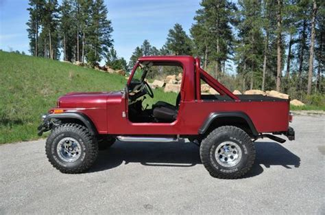 jeep scrambler 4 door buy used 1983 jeep scrambler sl sport utility 2 door 4 2l