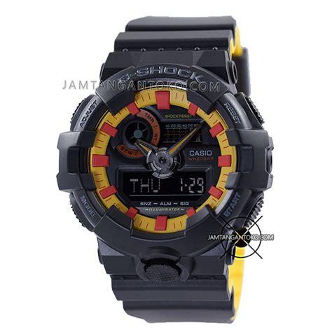 Casio Gshock Ga120 Ori Bm harga sarap jam tangan g shock ga 700by 1a black yellow