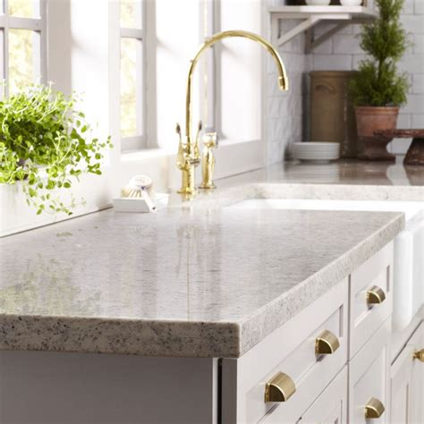 ms countertops and brass hardware