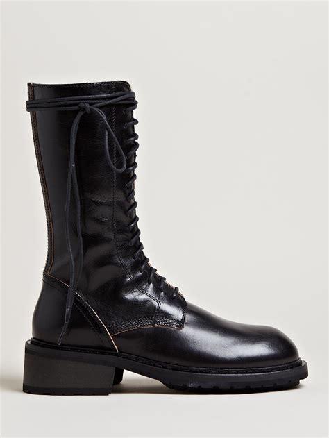 demeulemeester boots demeulemeester s tonato mid high boots