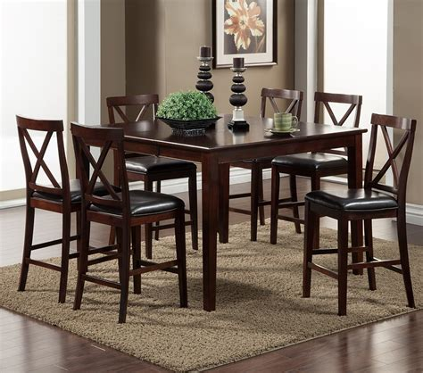 Jackson Bistro Table Dreamfurniture Jackson Pub Table With Butterfly Leaf