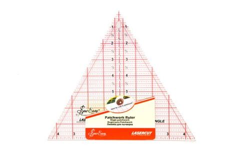 60 Degree Triangle Ruler Quilting by Quilting Ruler 60 Degree Triangle 8x9 1 4in