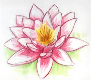 La Flor De Lotus Dessin Fleur De Lotus