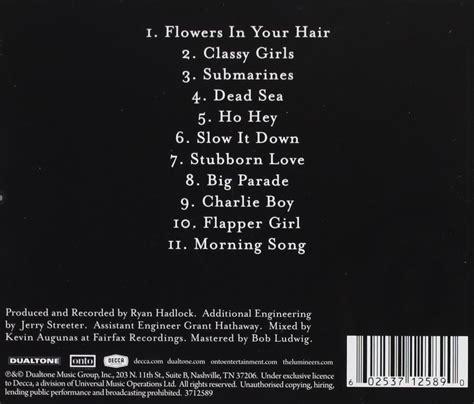 ho hey mp the lumineers deb 252 t album als album des tages auf musicload