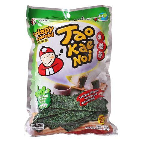B26 Tao Kae Noi Crispy Seaweed 15g snack rong biển tao kae noi crispy seaweed vị truyền thống