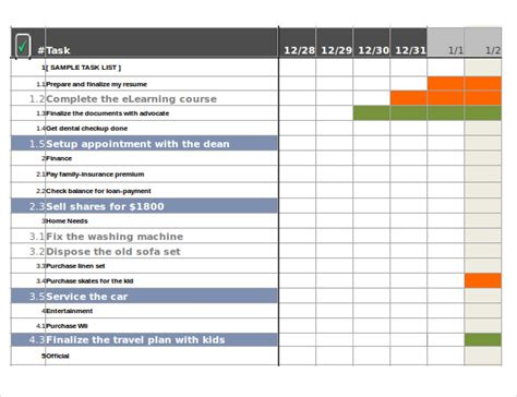 document tracker excel template task sheet templates temp todolistwithdropdowns jpg
