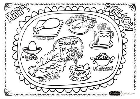 coloring pages passover print seder plate coloring ideas coloring