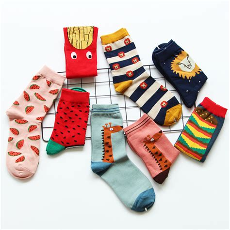 Korean Socks aliexpress buy 2015 new caramella kawaii socks korean novelty watermelon