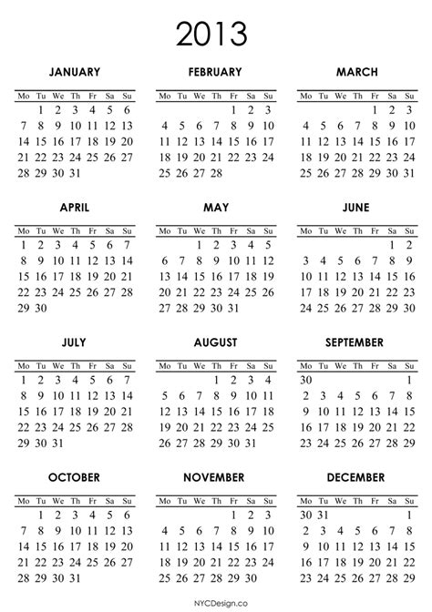 printable 3 year calendar 2013 to 2015 search results for 2013 calendar free printable monthly