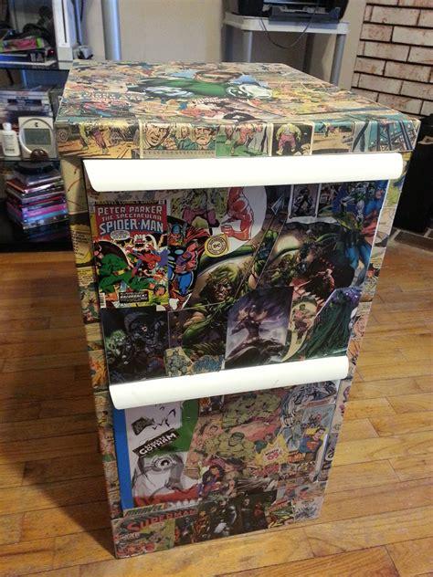 comic book filing cabinet cabinets design ideas