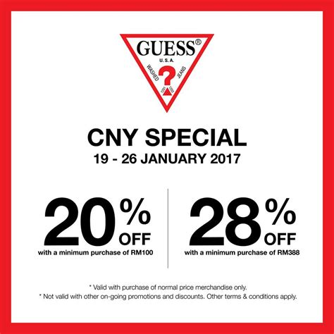 Guess Sale sogo kl guess cny special sale fashion clothing