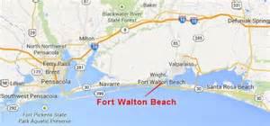 map of florida fort walton fort walton real estate search all fort walton