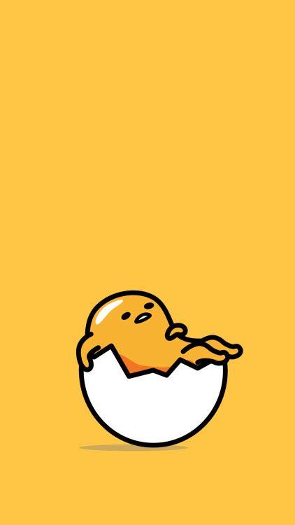 wallpaper tumblr kuning gudetama wallpapers tumblr