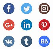 Iconos De Red Social Vectoriales  4695 Gratis