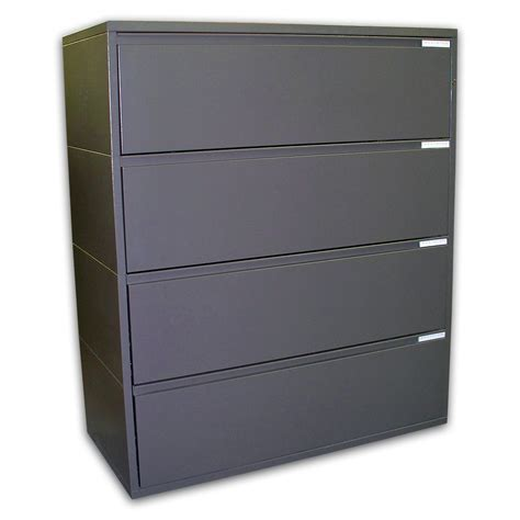 Four Drawer File Cabinet Herman Miller 42 Meridian 4 Drawer Lateral Files File Filing Cabinet Ebay