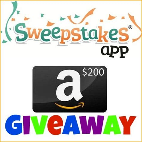 Amazon Mobile Giveaway - 200 amazon sweepstakes app giveaway things that make