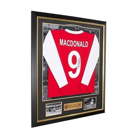 Arsenal Signature 6 arsenal signed malcolm macdonald shirt official store