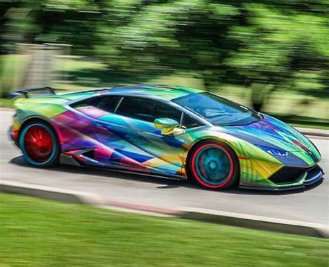 Rainbow Lamborghini Aventador by 17 Best Images About Next Level Wraps Paint On