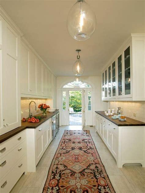 Galley Kitchen Rugs Galley Kitchens Kitchens And Rugs On Pinterest