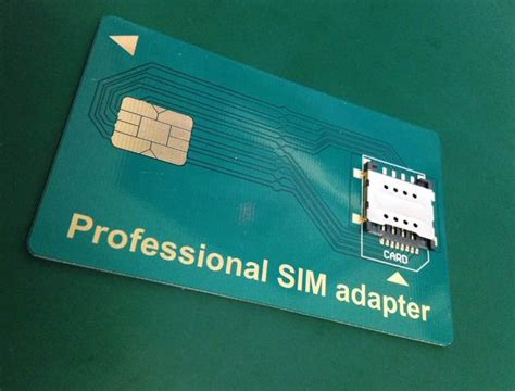 Smart Sim Card Adapter pro sim adapter the professional sim adapter is a great