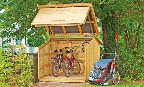 Motorradgarage Eigenbau by Fahrradbox Selbst De