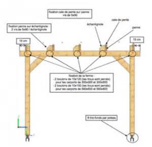 Large Pergola Plans by Carport Bois 6x4