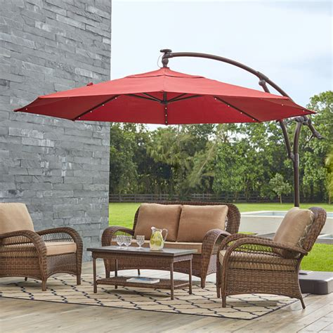 Umbrellas For Patio Furniture Patio Umbrellas The Home Depot
