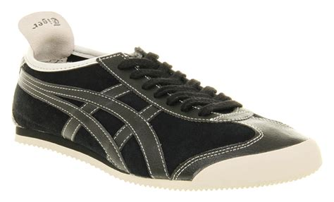 Sepatu Asics Onitsuka 66 04 onitsuka tiger mexico 66 black suede in black for lyst