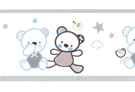cenefas habitacion bebe leroy merlin cenefa infantil de papel ositos azules ref 16759316
